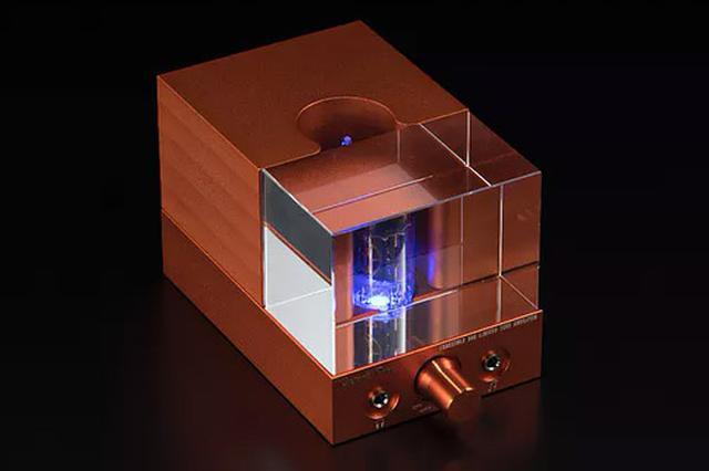 画像: プリメインアンプERNESTOLO 50k EXの寸法/質量は幅76×高さ75×奥行150mm/1.1kg