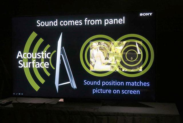 画像: 【麻倉怜士のCES 2017リポート】Vol.04ソニーの有機ELテレビ「A1E」に迫る音と映像の一致を目指して開発