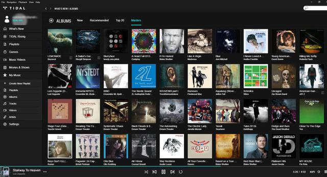 画像: TIDALがMQA形式で96/24の高品位ストリーミング配信を開始ワーナー系など3万曲以上を用意