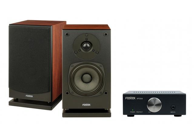 画像: フォステクス、ハイレゾ対応の小型スピーカー「P804-S」とプリメイン「AP20d」を発売