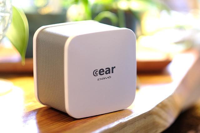 画像: 手のひらサイズのコンパクトなBluetoothスピーカーcear「pavé」臨場感あふれるサウンドを再生