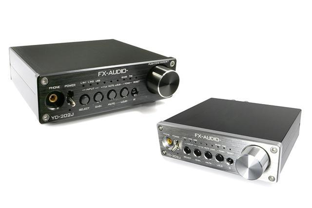 画像: FX-AUDIO-、4,980円のDAC付プリメイン「YD-202J」を発売。デュアルモノーラル構成を採用