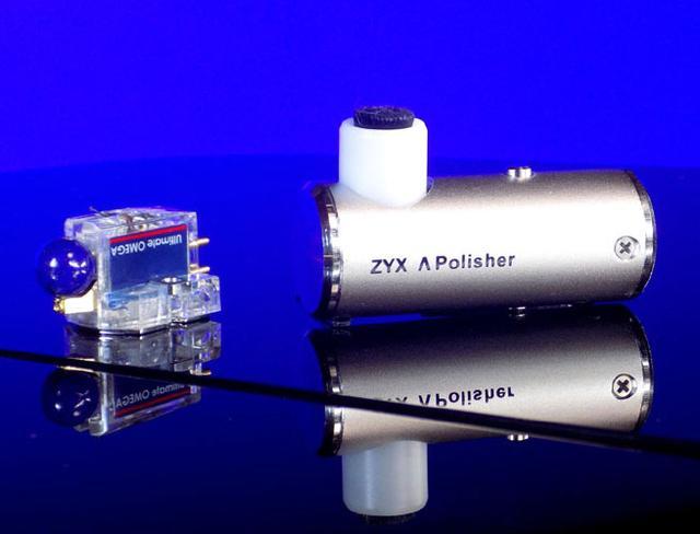 画像: ZYXより、電動3次元振動でカートリッジのスタイラスを洗浄するポリッシャー登場