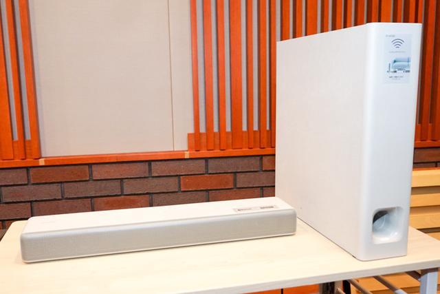 画像: ソニーのスリム&コンパクトなサウンドバーHT-MT500/MT300サブウーファーをソファ下に置ける