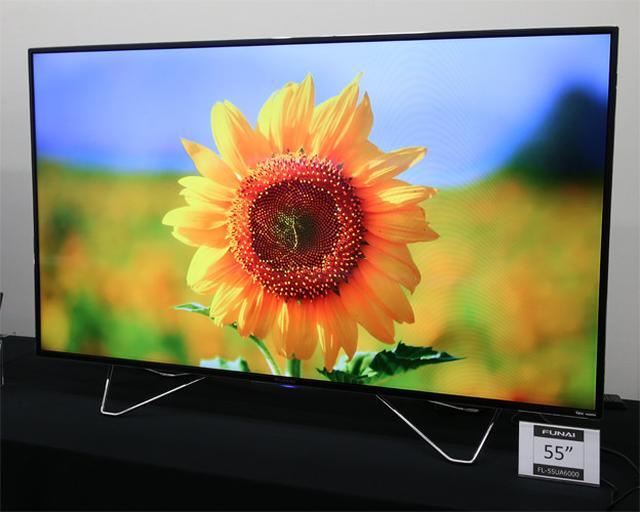 画像: FUNAI、4K液晶テレビを発売HDR入力に対応し、HDD内蔵でテレビ録画も簡単に楽しめる