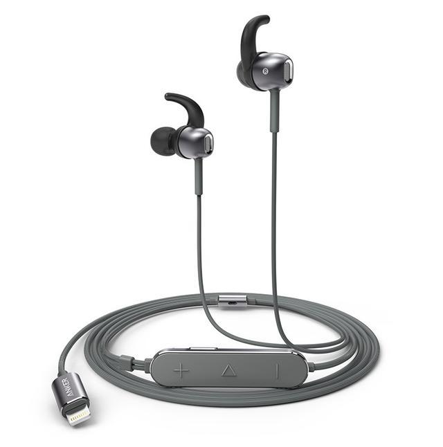 画像: Anker、Lightning接続のハイレゾ対応カナル型イヤホン「SoundBuds Digital IE10」発売