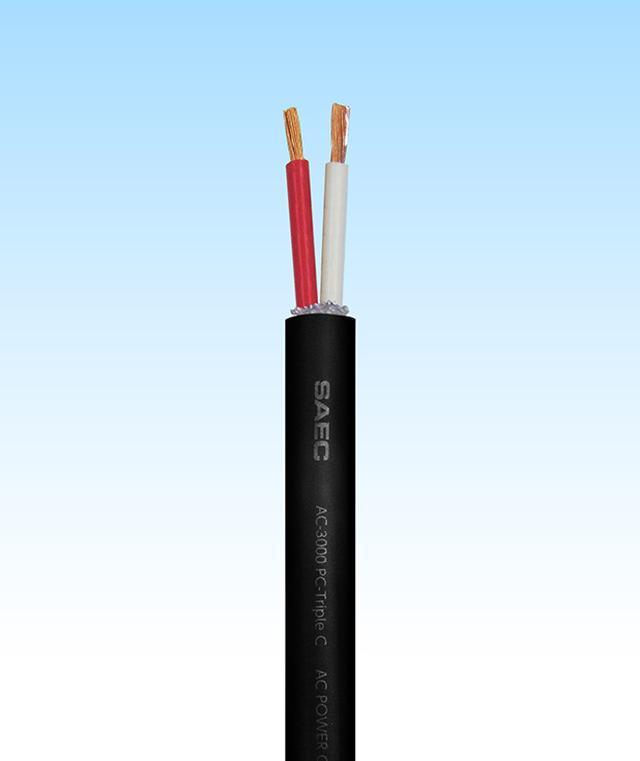 画像: サエク、導体にPC-Triple Cを採用し1mあたり3,500円の切売り電源ケーブル「AC-3000」発売