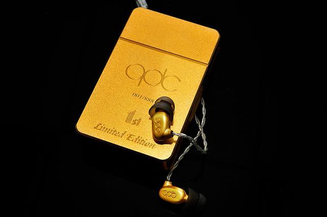 画像: 中国qdcが1周年記念のイヤホン「1LE」を台数限定で発売。金メッキボディで高級感を演出