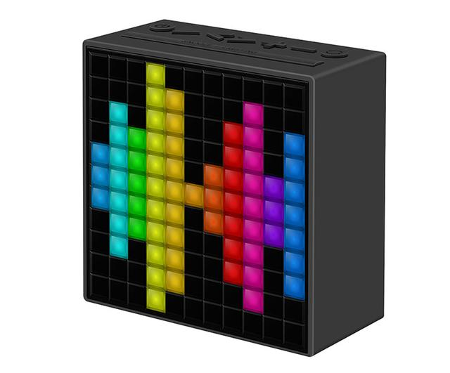 画像: 8bit感溢れるLED表示がアツいBluetoothスピーカーDivoom「TimeBox」誕生