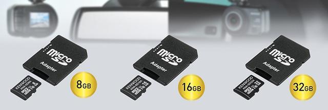 画像: ケンウッド、ドラレコ向け高耐久microSDカード3モデルを発売「KNA-SD32A」は32GBで8,000円
