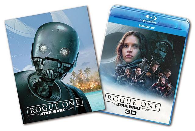 画像: 『ローグ・ワンMovie NEX』が4月28日(金)に発売。オンライン限定で「プラス3D」も用意
