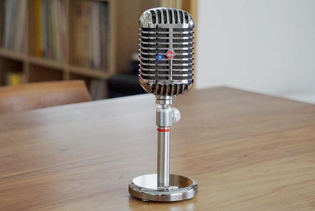 画像: 編集部インプレ:レトロなマイク型Bluetoothスピーカー「R50」は見た目も音も満足できるアイテムだ