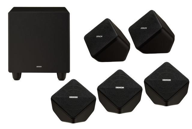 画像: デノン SYS-2020レビュー:サテライトスピーカー採用の5.1chセットはサイズ以上のスケール感だ