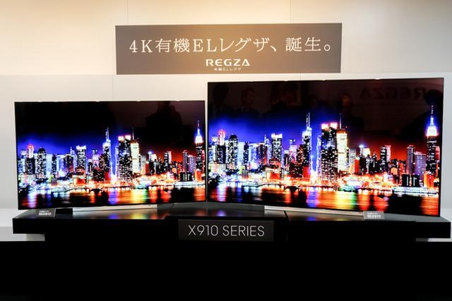 画像: 東芝が4K有機ELレグザ「X910」シリーズを発表65/55インチを3月上旬に発売