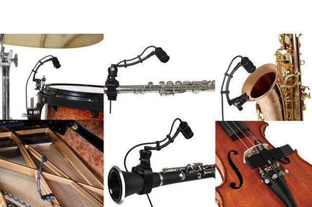 画像: PROSOUNDニュース様々な楽器に取り付け可能マイクAudio-Technica ATM350
