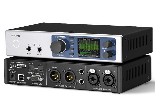 画像: PCM768kHz、DSD11.2M対応RME「ADI-2 Pro」はヘッドホンアンプとしても使える