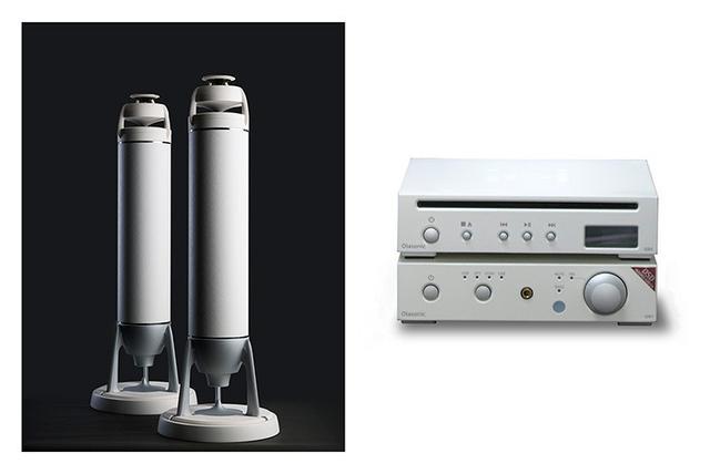 画像: 【追記あり】オオアサ電子と東和電子、 スピーカー/アンプ/CD再生機を セットにした「Egretta & NANO」