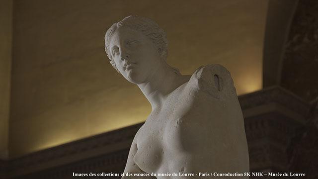 画像: ルーブルの名品たちを8K/HDRで!美術館のスタッフも高く評価した、注目番組が試験放送でオンエア