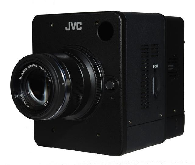 画像: JVC、Super 35mm CMOS搭載業務用4Kカメラ「GW-MD100」小型・800gボディで4K/60p対応