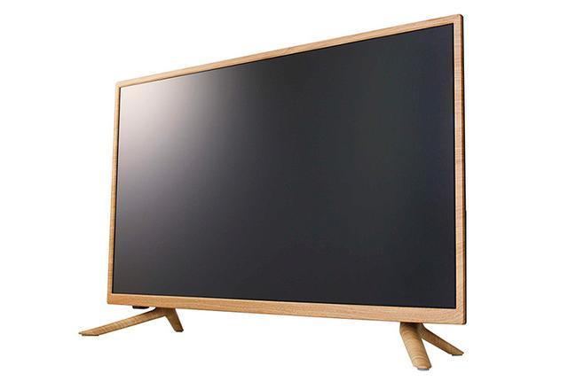 画像: ドウシシャ、木目調キャビネットがユニークな32V型液晶テレビWOD32。ナチュラルとダークの2色展開