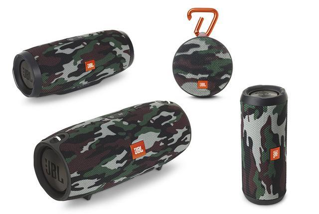 画像: JBLの防水性能を備えたBluetoothスピーカー4モデルに個性的な迷彩柄の新色が登場
