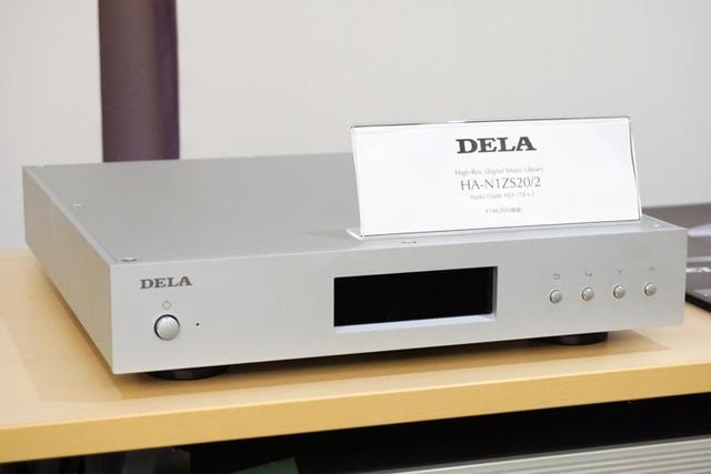 画像: 音のサロン&カンファレンス:メルコシンクレッツはDELAのオーディオ用NAS2モデルを出展