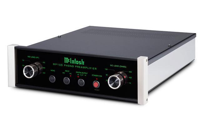 画像: 同社初のフォノイコ「MP100」、真空管式プリアンプ「C2600」とMcIntoshが2機種をリリース