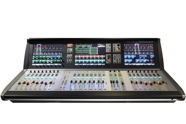 画像: PROSOUNDニュースSoundcraft Vi3000デジタルミキサーのコンパクトモデル登場
