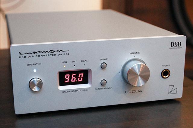 画像: SSO新製品レビューラックスマン「DA-150」USB DAC内蔵ヘッドホンアンプ