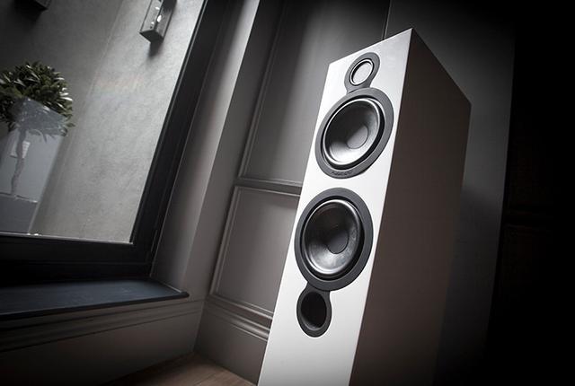 画像: ケンブリッジオーディオのスピーカーAeromax 6/Aeromax 2。BMRドライバーで音の透明感をアップ