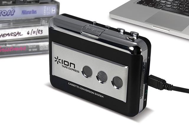 画像: そのカセットテープまだ聴けます!デジタル変換対応カセットプレーヤー、アイオン「Tape Express」登場