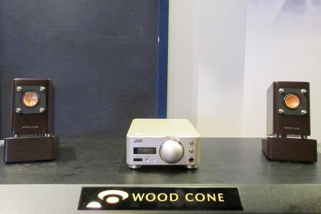 画像: JVCのウッドコーンスピーカー採用超小型コンポEX-NW1とケンウッドのプリメインKA-NA7
