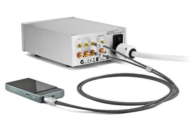 画像: オヤイデ、3.5mmステレオミニ→RCA(L/R)に変換できるオーディオケーブル「HPSC-35R」