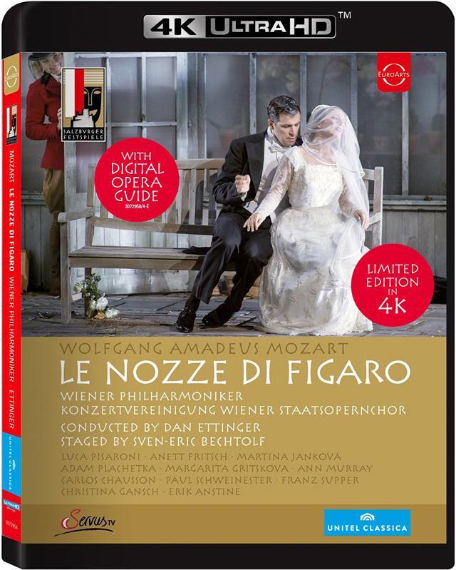 画像: 4Kオペラ 『フィガロの結婚』 (4K UHD BLU-RAY)(MOZART: LE NOZZE DI FIGARO)