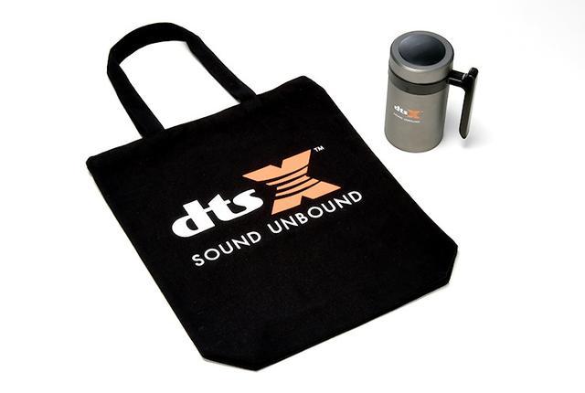 画像: DTS:Xロゴ入りトートバッグとステンレス製マグカップを3名様にプレゼント!