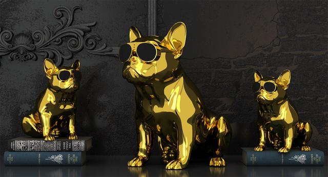 画像: AeroBull HD1 Gold Edition(中央)とAeroBull XS1 Gold Edition(両端)