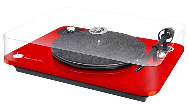 画像: 仏elipsonのターンテーブル「OMEGA 100 RIAA」。フォノイコライザーを内蔵して価格は¥86,000(税別)