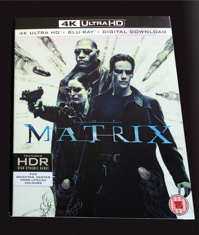 画像: 4K UHD Blu-rayレビュー『マトリックス』 アンディ&ラリー・ウォシャウスキー監督 【世界4K-Hakken伝】