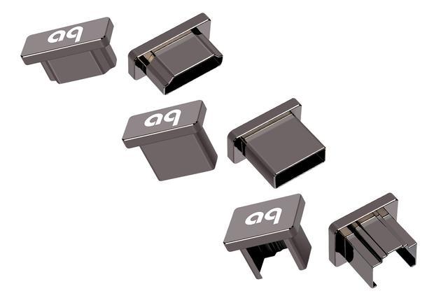 画像: 左からHDMI、USBタイプA、LAN端子用