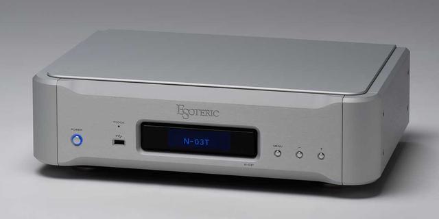 画像: 「N-03T」は機能が最先端。PCM384kHz/32bit、DSD11.2MHzをサポート