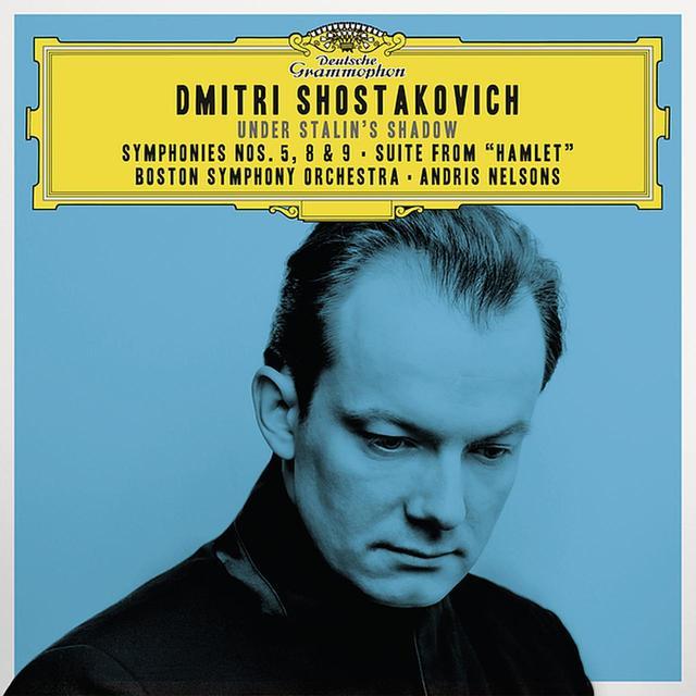 画像: ショスタコーヴィチ:交響曲第5番、第8番&第9番、他/ボストン交響楽団 , アンドリス・ネルソンス