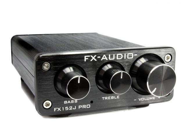 画像: FX-AUDIO-の小型プリメインアンプ「FX152J PRO」。7月13日発売で、価格は¥3,280(税込、電源別売)