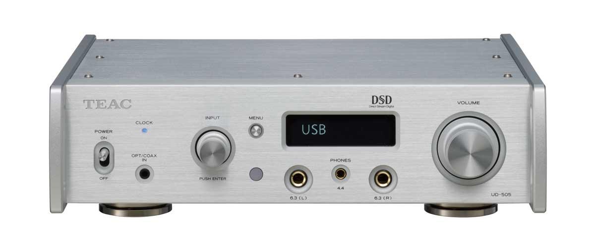 画像1: 「UD-505」はDSD 22.6MHz、PCM 768kHz/32bitに対応する超ハイスペック機