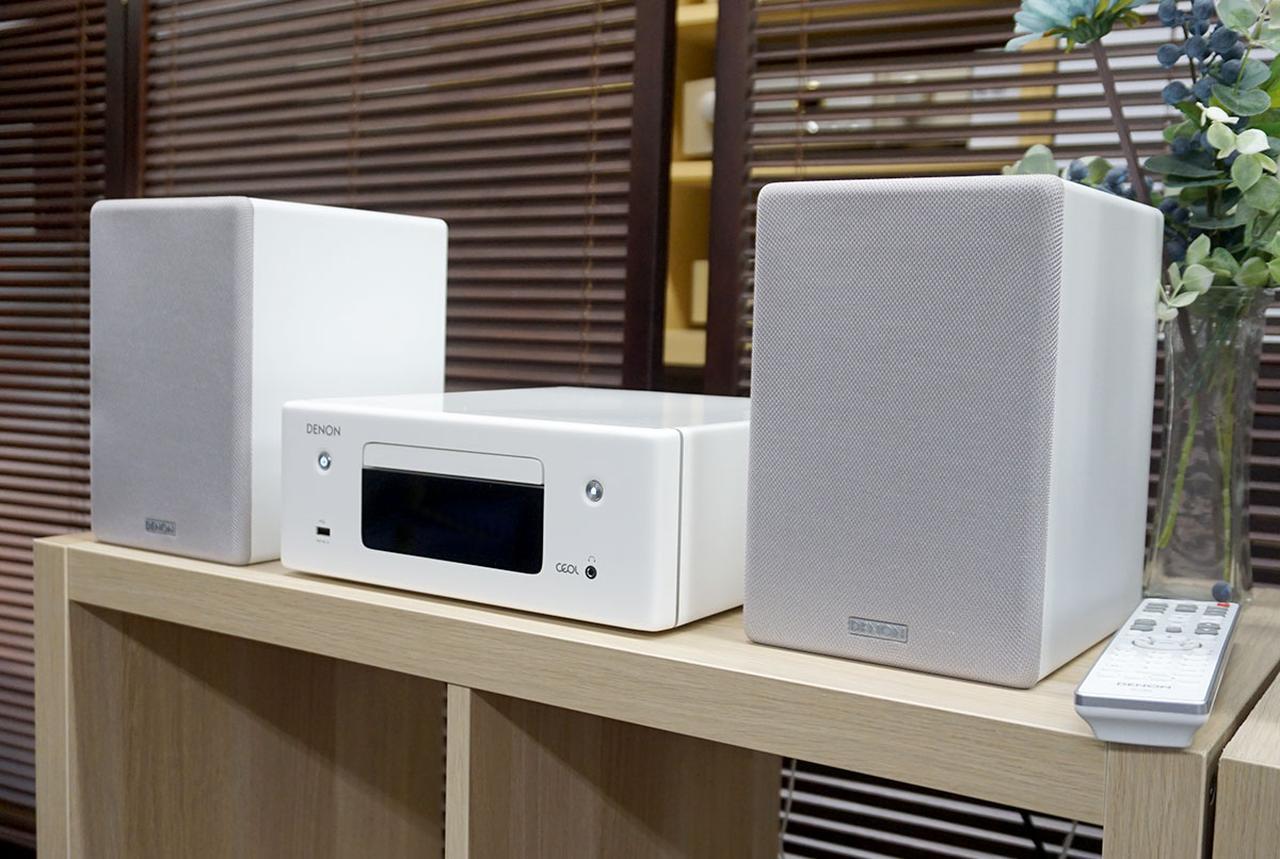 画像: ネットワークCDレシーバー「RCD-N10」とスピーカーシステム「SC-N10」