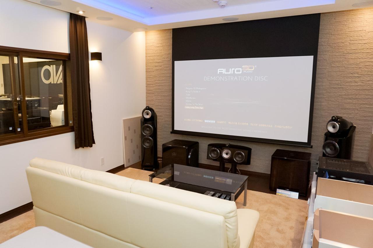 画像: サウンデリアは防音ホームシアターのショールームも兼ねており、ルーム・イン・ルームの浮床構造や、防音仕様の二重窓を備えている