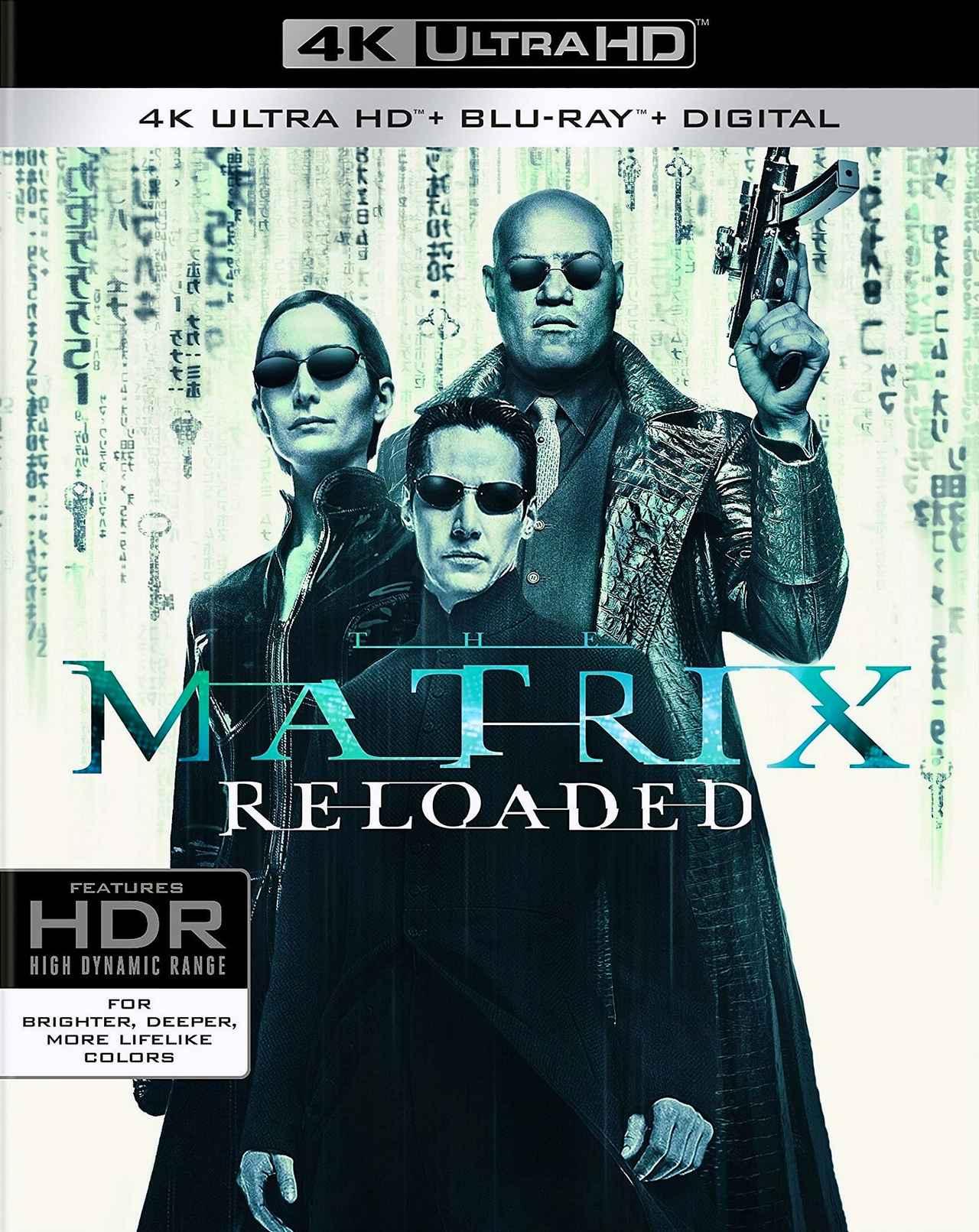 画像1: 人気シリーズ続編2作がリリース 『マトリックス:リローデッド』『マトリックス:レボリューションズ』【海外盤Blu-ray発売情報】