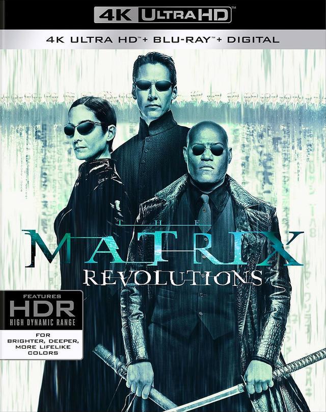 画像2: 人気シリーズ続編2作がリリース 『マトリックス:リローデッド』『マトリックス:レボリューションズ』【海外盤Blu-ray発売情報】