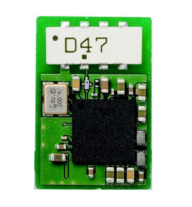 画像: IA-BT7のために独自開発したブルートゥース用の基板。対応するコーデックはSBC、AAC、aptX、aptX HD、LDACと幅広い。この回路を搭載した同社製品も開発中とのこと