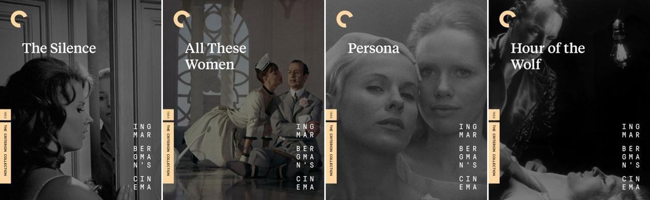 画像: 沈黙 (63), この女たちのすべてを語らないために (64), 仮面/ペルソナ (66), 狼の時刻 (68)