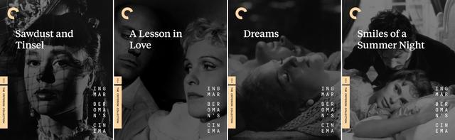 画像: 道化師の夜 (53), 愛のレッスン (54), 女たちの夢 (55), 夏の夜は三たび微笑む (55)